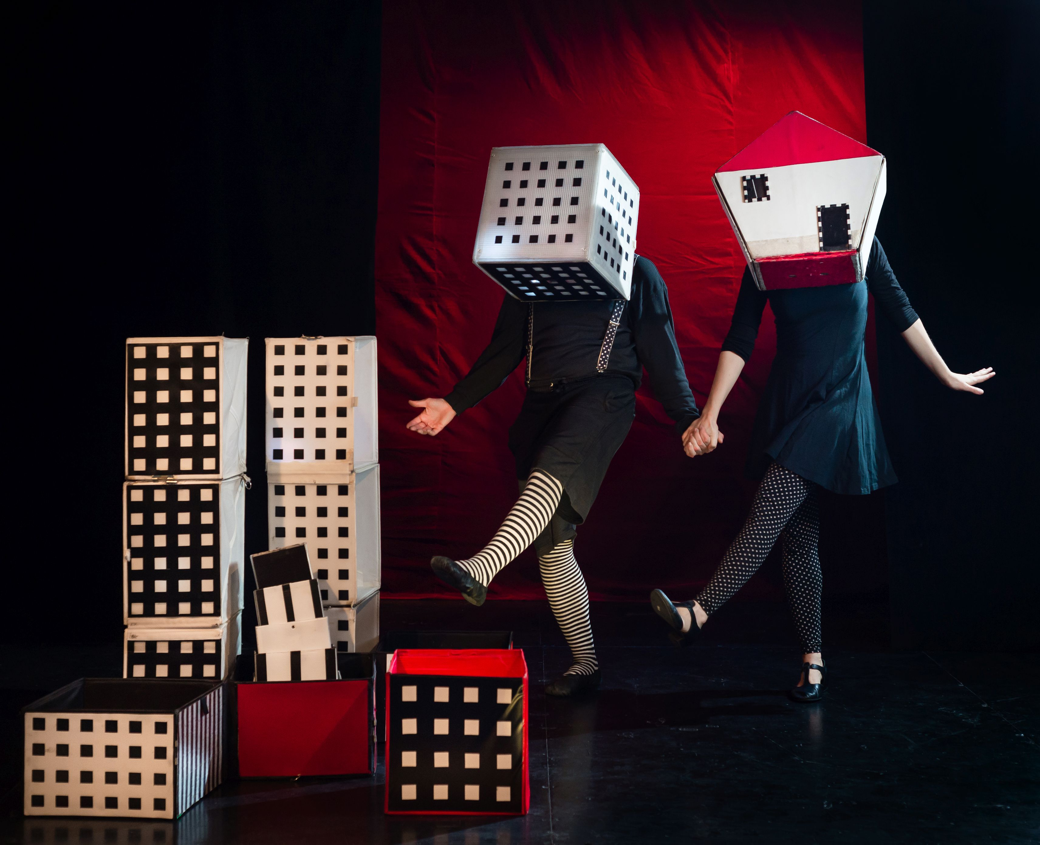 The Train Theater: The Cubes Circus (Israel)